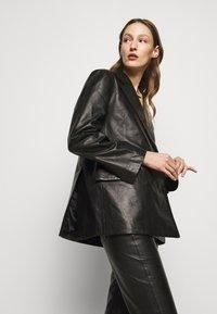House of Dagmar - CHARLOTTE  - Leather jacket - black - 2