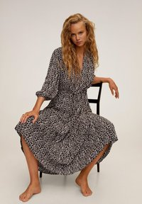 Mango - APPLE - Day dress - noir - 5