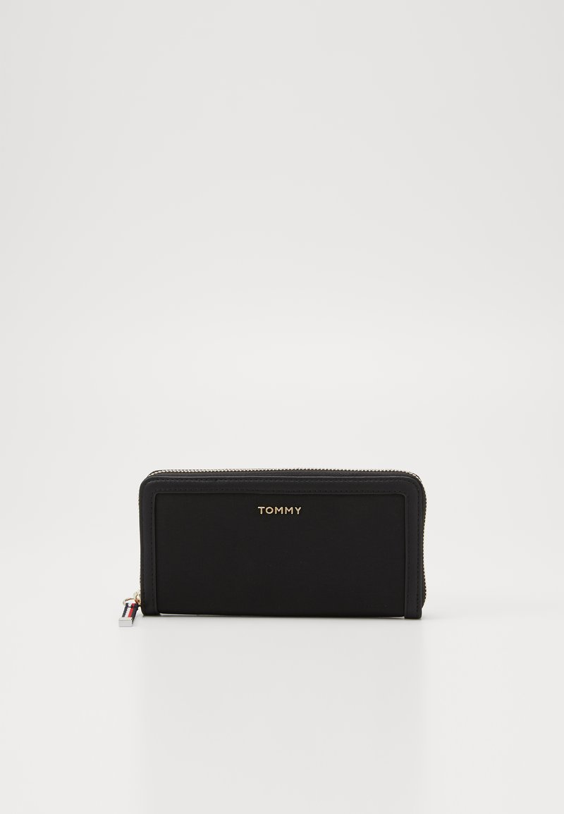 Tommy Hilfiger - LARGE  - Monedero - black
