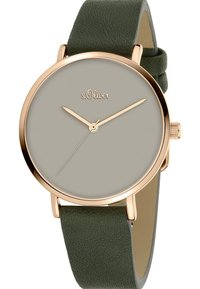s.Oliver - Watch - green - 3