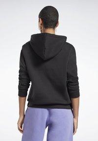 Reebok - MODERN SAFARI HOODIE - Sweater - black - 0