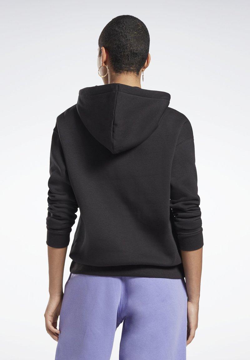 Reebok - MODERN SAFARI HOODIE - Sweater - black