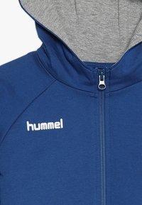 Hummel - HMLGO - Hoodie met rits - true blue - 4