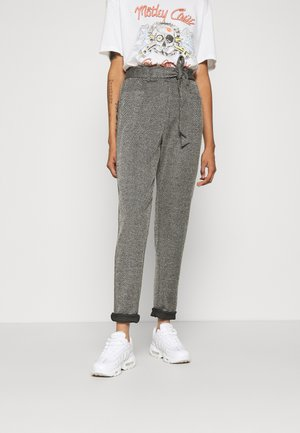 BYSAMONI PANTS  - Trousers - black mix