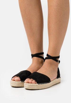 WIDE FIT KAIRA - Sandals - black