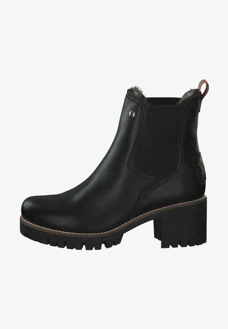 Panama Jack - Platform ankle boots - black