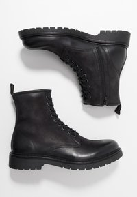 Pier One - Lace-up ankle boots - black - 1