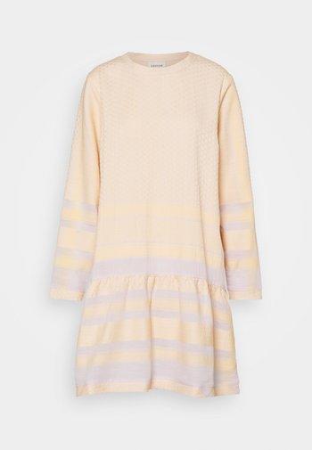 DRESS - Day dress - lavender/fog/abricot