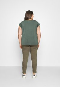 Anna Field Curvy - Print T-shirt - green - 2
