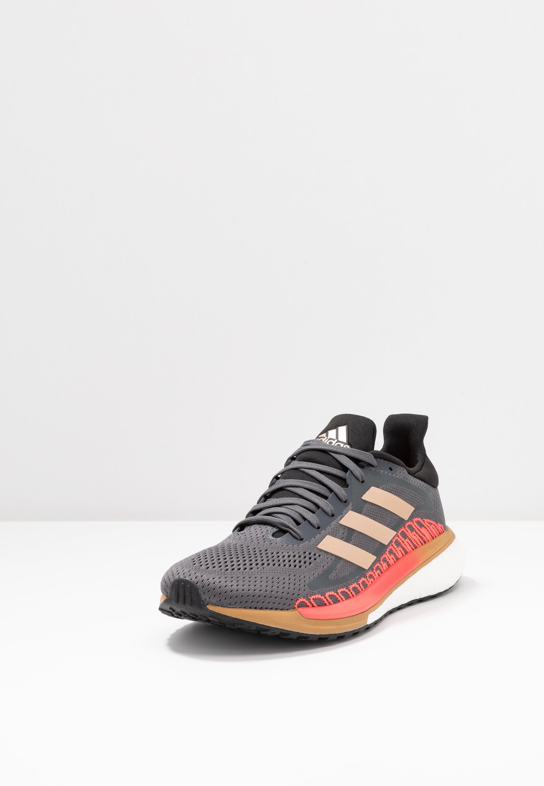New Arrival Fashion Women's Shoes adidas Performance SOLAR GLIDE ST 3  Stabilty running shoes grey five/crystal white/signal pink xStzEsozz
