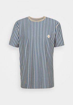 JABI MILK STRIPE TEE - Print T-shirt - ecru