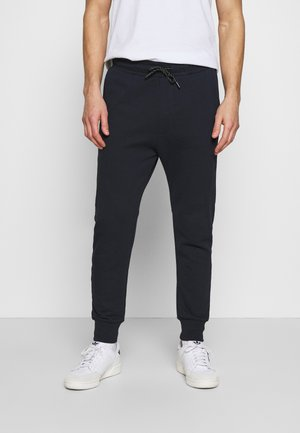 WITH CUTLINES - Tracksuit bottoms - sky captain blue
