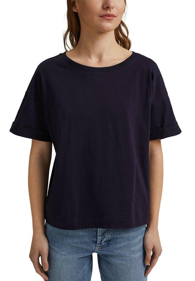 ICONIC - Basic T-shirt - navy