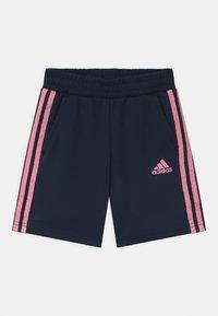 adidas Performance - BRAND SET UNISEX - Sports shorts - pink/dark blue - 2