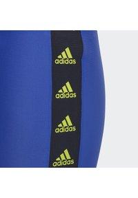 adidas Performance - TAPE SWIM BRIEFS - Swimming briefs - blue - 2