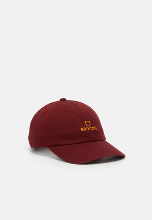 ALPHA UNISEX - Cap - dark brick