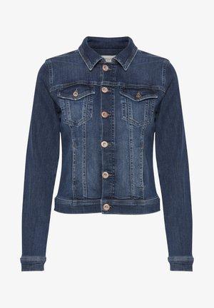 Denim jacket - dark blue denim