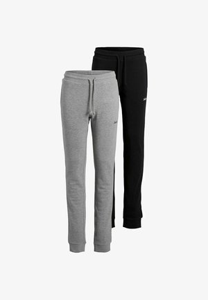 2 PACK - Trainingsbroek - black/grey