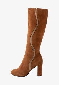 mint&berry - High heeled boots - cognac - 1