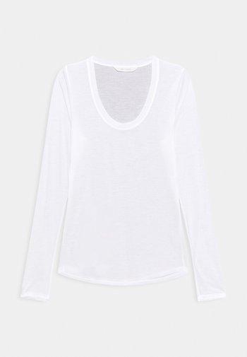 LOTUS - Langarmshirt - white