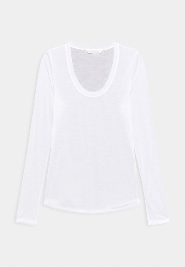LOTUS - Long sleeved top - white
