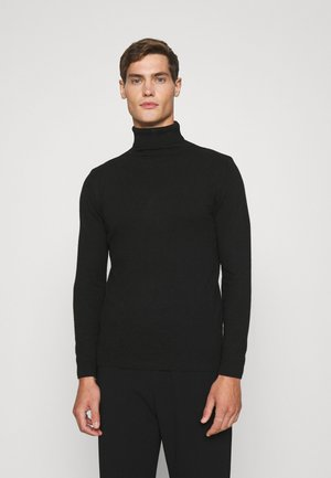 TURTLENECK - Pullover - black