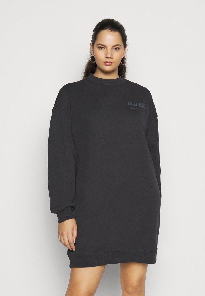 Dr.Denim Plus - LOWE DRESS - Day dress - graphite shadow