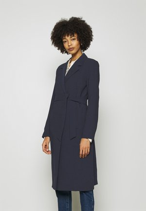 BIG COLLAR - Trenchcoat - marine