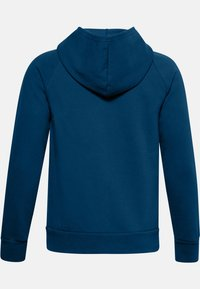 Under Armour - UA RIVAL - Zip-up hoodie - graphite blue - 1