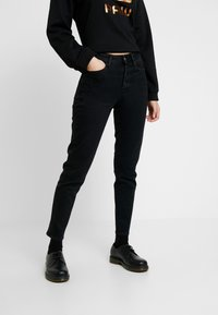 G-Star - NAVIK HIGH SLIM ANKLE POP - Slim fit jeans - jet black - 0