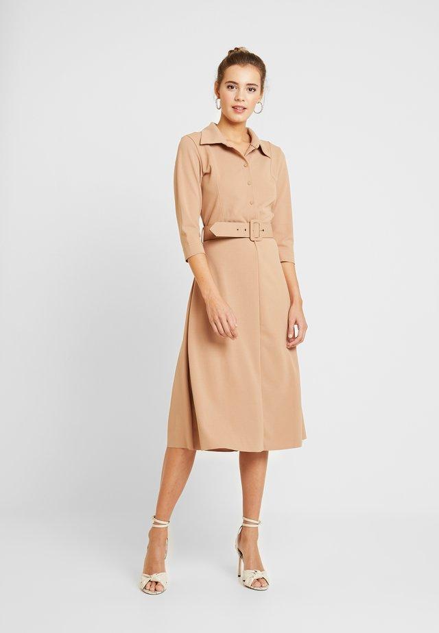 ANULC DRESS - Shirt dress - camel