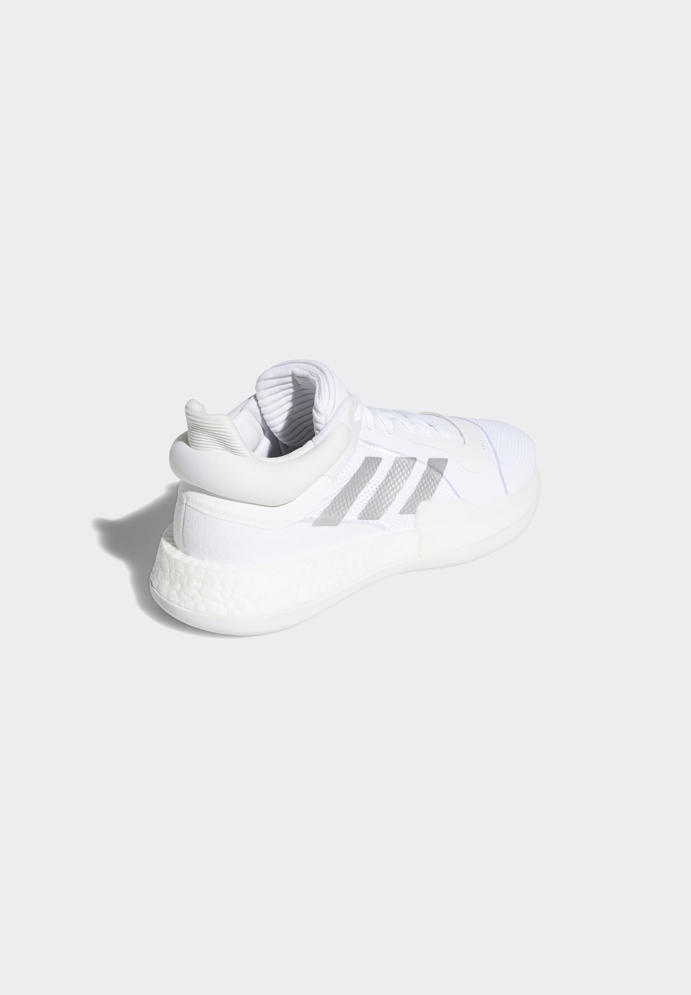 adidas Performance MARQUEE BOOST LOW SHOES - Handballschuh - beige/weiß - Herrenschuhe 0jhBx