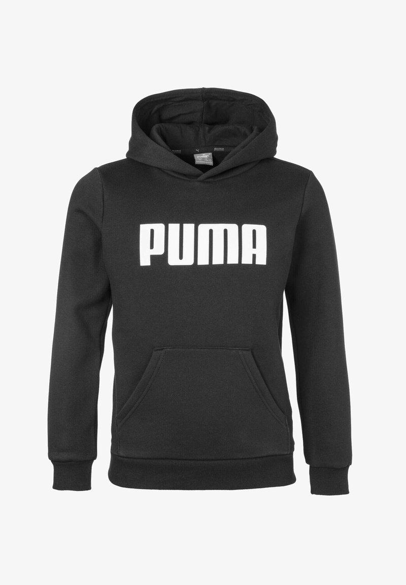 Puma - ESSENTIALS - Felpa con cappuccio - cotton black