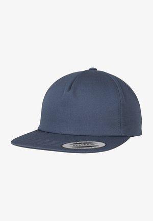 UNSTRUCTURED 5-PANEL SNAPBACK - Cap - navy