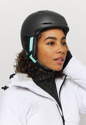 AVERA MIPS - Helm - metallic coal/cool breeze