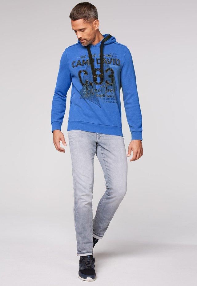 Hoodie - coastal blue