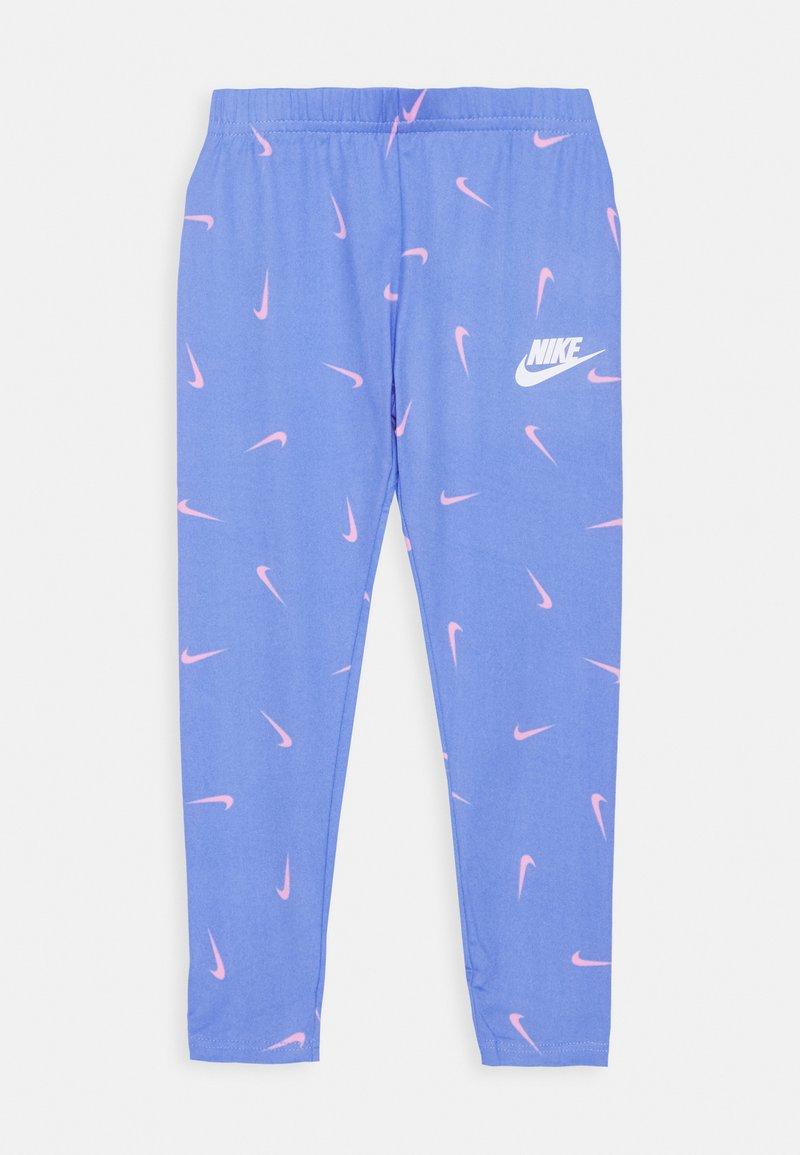 Nike Sportswear - SWOOSHFETTI - Legíny - royal pulse