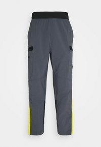 The North Face - STEEP TECH PANT UNISEX - Cargobyxor - vanadis grey/lightning yellow/black - 0