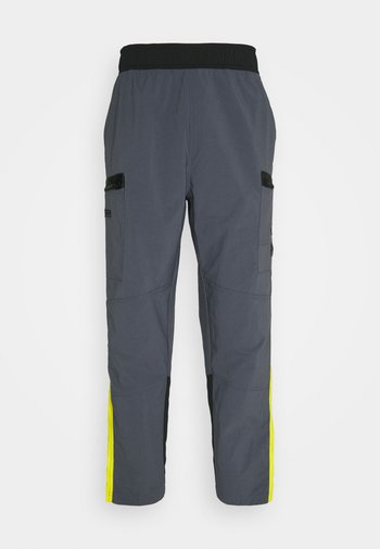 STEEP TECH PANT UNISEX - Cargobukser - vanadis grey/lightning yellow/black