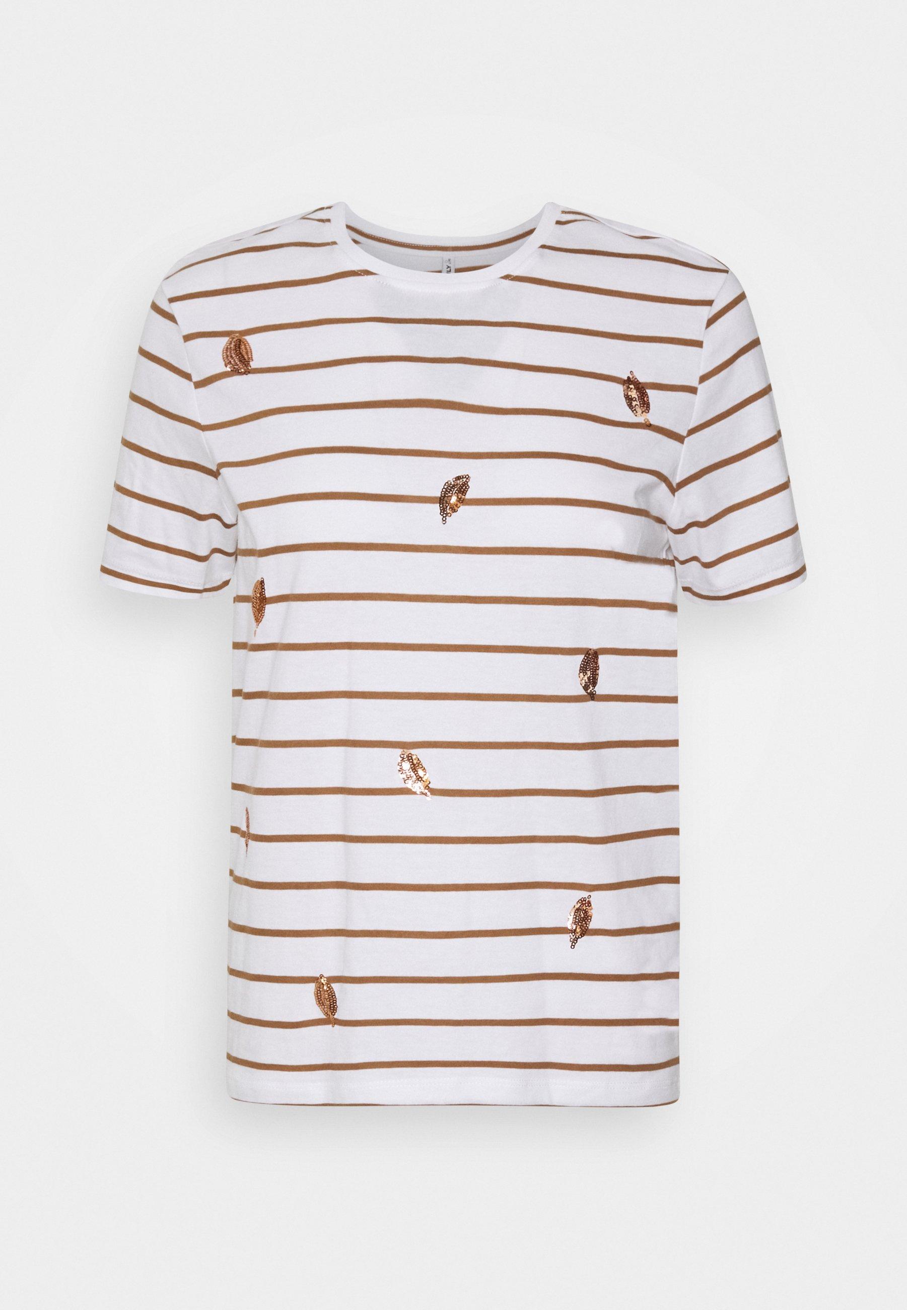 Damen ONLKITA LIFE LEAF BOX - T-Shirt print