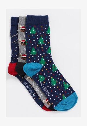 3PACK - Socks - multi-coloured