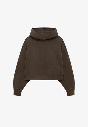 Bluza z kapturem - brown