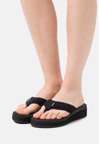 Roxy - CAILLAY - T-bar sandals - black - 0