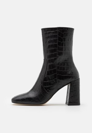 VOICE - High heeled ankle boots - noir