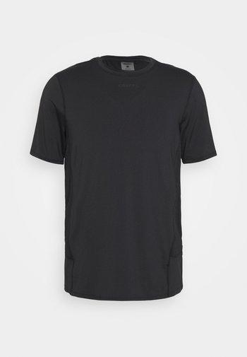 ESSENCE TEE - Basic T-shirt - black