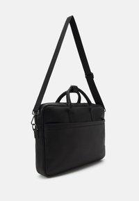Zign - LEATHER UNISEX - Laptop bag - black - 1