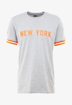 NBA WORDMARK TEE NEW YORK KNICKS - Print T-shirt - light grey heather
