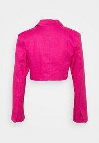 NA-KD - CROPPED  - Blazer - pink - 1