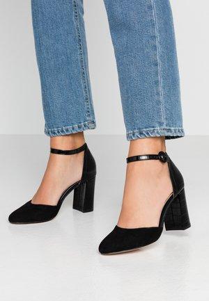 DEENA - Zapatos altos - black