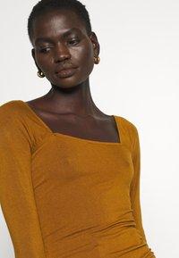 Rejina Pyo - MIRA TOP - Long sleeved top - brown - 5
